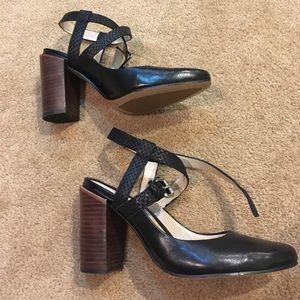 Clark's black heels